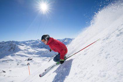 Skispaß am Nebelhorn © Tourismus Oberstdorf/ Alexander Fuchs