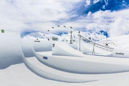 Audi Snowboard Sebbe de Buck David Malacrida