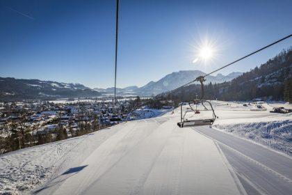 Skigebiet Hocheck Oberaudorf © Chiemsee-Alpenland Tourismus