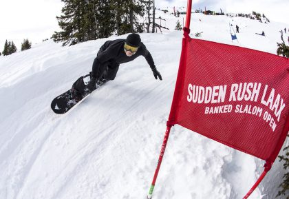 LAAX Sudden Rush Banked Slalom © Ruggli