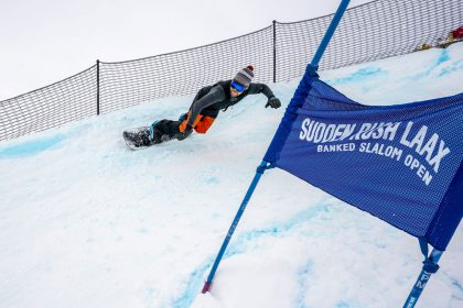 SuddenRush Banked Slalom LAAX 2020 © laax