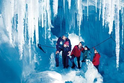 Natur Eispalast © TVB Tux Finkenberg