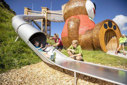 Abenteuerspielplatz Pepis Kinderland am Penkenjoch © TVB Tux Finkenberg