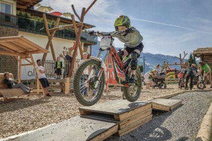Spass e-trail fahren alpina zillertal