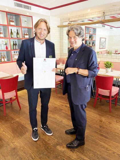 GREENFORCE © Michael Käfer (62) mit Thomas Isermann (44) CEO und Gründer von GREENFORCE