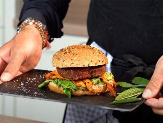 GREENFORCE © der vegane GREENFORCE Burger (ab sofort auch bei Feinkost Käfer Prinzregenten 73)