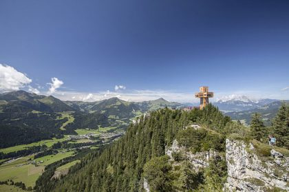 Das Jakobskreuz immer im Blick © Bergbahn Pillersee