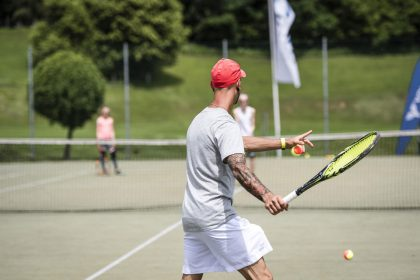 Tennisstunde © Hannes Niederkofler Peternhof