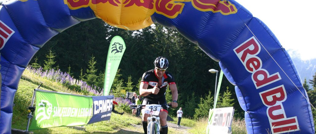 Der Biberg Auffiradler und Berglauf hat in Saalfelden schon Tradition und zeichnet sich durch sportliche und gesellige Highlights aus © Sport 2000 Simon