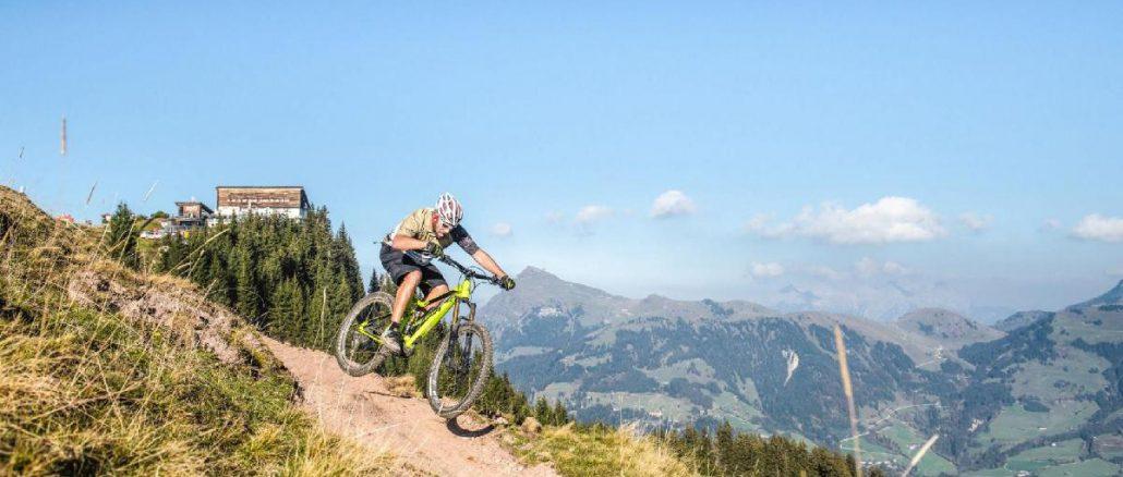 Bike Trail Hahnenkamm Mountainbike Kitzbühel © Kitzbühel Tourismus Michael Werlberger