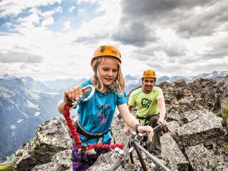 Klettern - © Silvretta Montafon   Daniel Zangerl