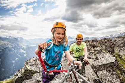 Klettern - © Silvretta Montafon | Daniel Zangerl