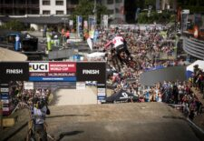 Sicherheit hoch vier bei den UCI Mountain Bike Weltmeisterschaften in Saalfelden Leogang