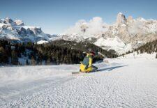Alta Badia/Südtiroler Dolomiten: Skigenuss in völliger Sicherheit