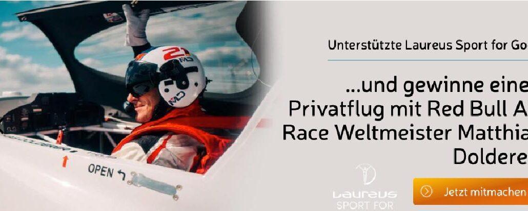 Die neue Charity-Aktion von Laureus und VIPrize garantiert Adrenalin Pur