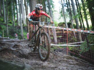 Mona Mitterwallner UCI 2020 Mountainbike Weltmeisterschaft Saalfelden Leogang © Moritz Ablinger