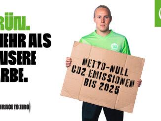"""""""Race To Zero"""": VfL Wolfsburg verfolgt ambitionierte Klimaschutzziele"""