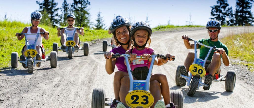 Mountain Go Kart von der Hochwurzen unserem Hausberg - Spass nicht nur für Kinder © Apart & Suiten Hotel Weiden